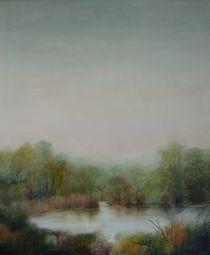 Donaualtwasser II von Nicola Klemz