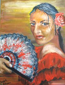 Flamenco by Helga Anders-Faber