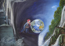 Held gesucht - wer rettet die Erde? by Angela Richter