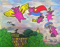 WHEN PIGS FLY by Deborah Willard