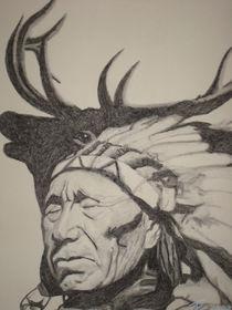 Black Elk - Schwarzer Hirsch by Thomas Schmucker-Drähne