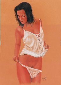 Weißes Hemd von Peter Bahn