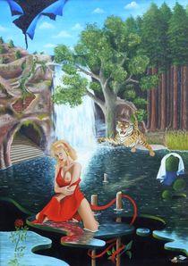 Der Sprung des Tigers von Peter Bahn