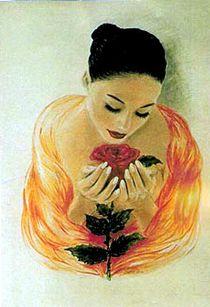 Wie eine Rose by Daciana Lucia Deufel