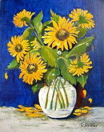 Blumen und Pflanzen Sonnenblumen von Eleonore Rottler
