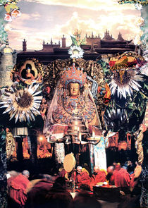 Buddha von Yvonne Pfeifer