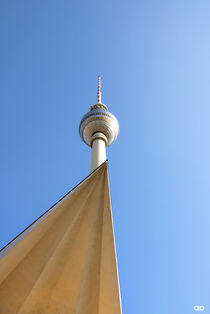 TV- tower of Berlin II/ Germany von Anne Bollwahn