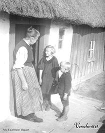 Verschmitzt   Familien FOTO von 1927 von M. Lehmann