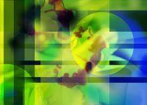 Green like freshness  von Martina Ute Rudolf