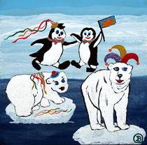 Karneval am Südpol von Birgit Oehmig