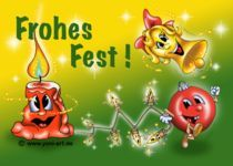 Frohes Fest ! by Yvonne Onischke