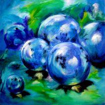 die Magie der Kugeln -blau - by Ulrike Sallós-Sohns