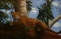 Jaguar auf Baum von robert schulze