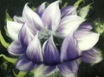 lila Blüte von Birgit Albert