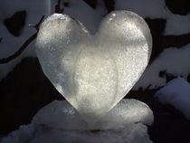 Herz aus Eis II von Birgit Albert