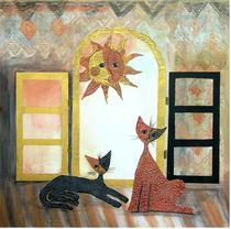 Morgensonne von Birgit Albert