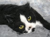 Katze Minki von Birgit Albert