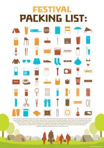 Festivla Packing List by Tobias Goldschalt