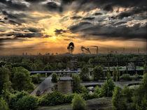 Duisburg Sonnenuntergang im Industriegebiet by Thomas Zimberg