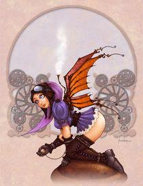 Steampunk Fairy by Alejandro Gutierrez Franco