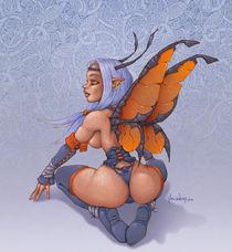 Dark Celtic Fairy by Alejandro Gutierrez Franco