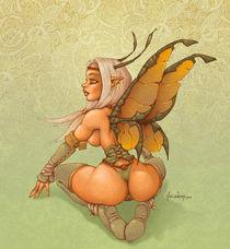 Bright Celtic Fairy. by Alejandro Gutierrez Franco