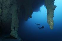 Blue Hole Belize by Norbert Probst