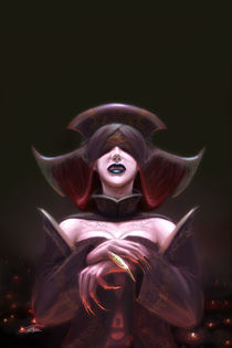 The Sorceress by George Eyo