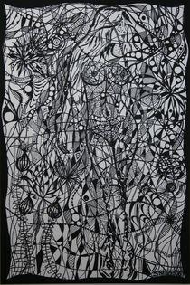 Versteckte Frau1-2006 60 x 90 cm von Harry Stabno