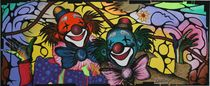 Clowns 2007 120 x 50 cm von Harry Stabno