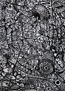 Verstecktes Paar 2008 50 x 70 cm von Harry Stabno