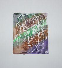Linol 3 bunt 2008 A4 von Harry Stabno
