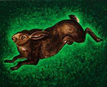 Angsthase-2005 60 x 50 cm von Harry Stabno