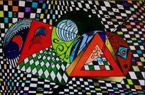 Rasterlook 2009 60 x 40 cm VERKAUFT ! von Harry Stabno