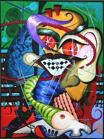 Skuryll 2010 60 x 80 cm von Harry Stabno