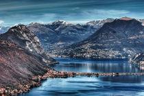 Lago Lugano von Heike Loos
