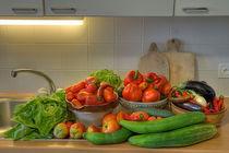 ital. Gemüse II, HDR von Heike Loos