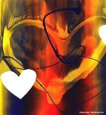 Flammendes Herz by Mosaikbild
