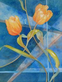 Zwei Tulpen by Kerstin Birk