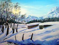 Winterimpressionen in den Bergen von Karin Müller