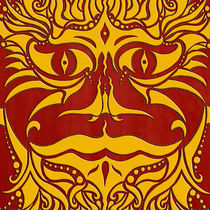 kundoroh gold gallery mandala von Peter Barreda