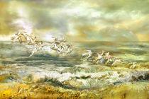Möwen am Meer von artesigno