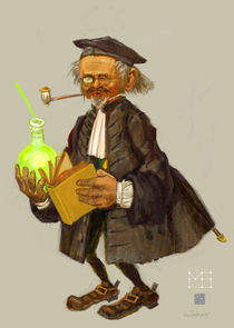 Alchemist by Maxim Bagdasarov