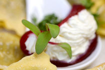 Ravioli mit Rote Beete und Kresse  by lizcollet