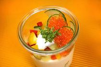 Schmankerl mit Gemüse und Kaviar von lizcollet