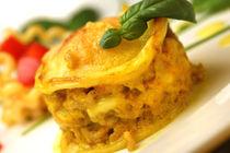 Lasagne mit gelbem Paprika und Safran von lizcollet