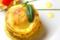 Lasagne mit Chicken und gelbem Paprika von lizcollet