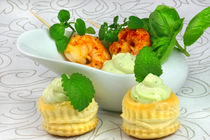 Avocado Yoghurt Cream and Friends by lizcollet