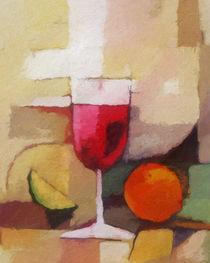 Red Wine - Roter Wein von Lutz Baar