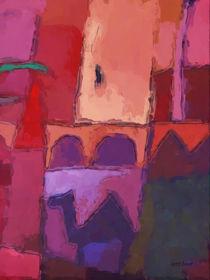 Rote Impression von Lutz Baar